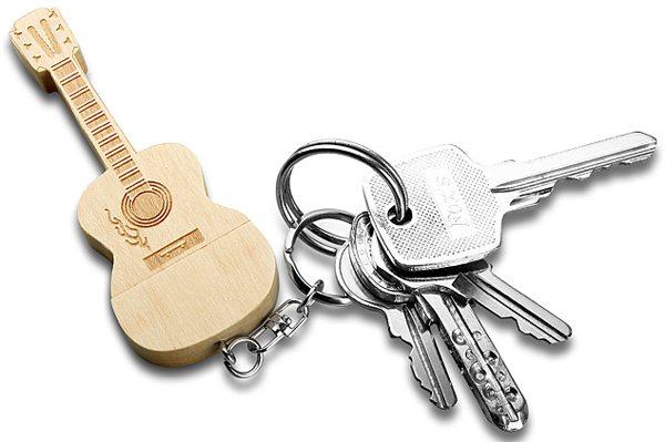wooden guitar usb flash drive 2