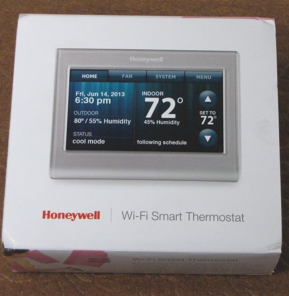Honeywell Wi-Fi Smart Thermostat-2