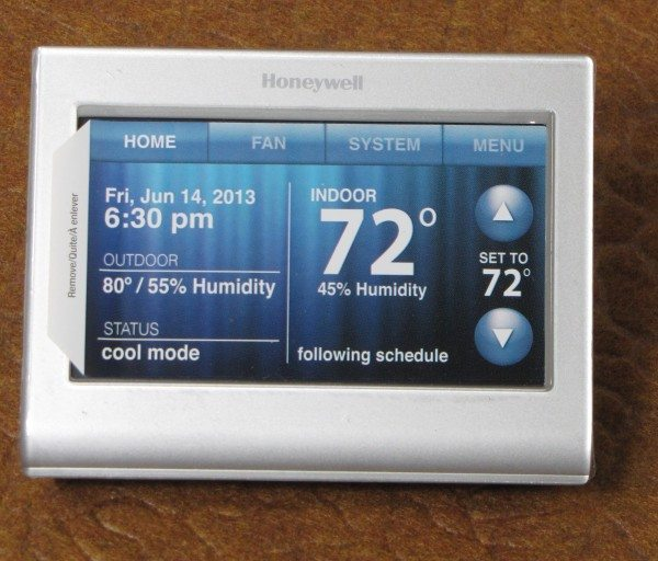 Honeywell Wi-Fi Smart Thermostat-4