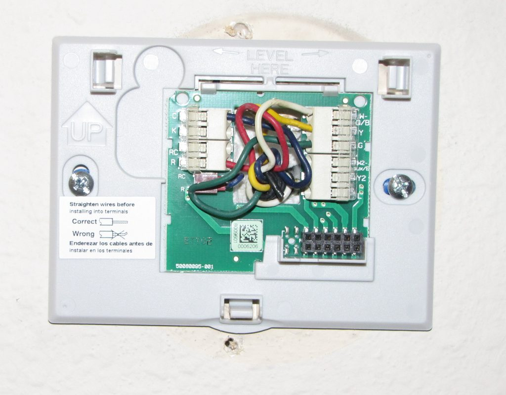 Honeywell Thermostat Wiring Wifi Smart Diagrams 2 Wire Diagram Heat Only Trusted Schematic Wi Fi Review The Gadgeteer