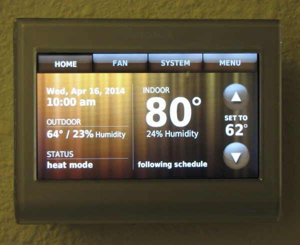 Honeywell Wi-Fi Smart Thermostat-7