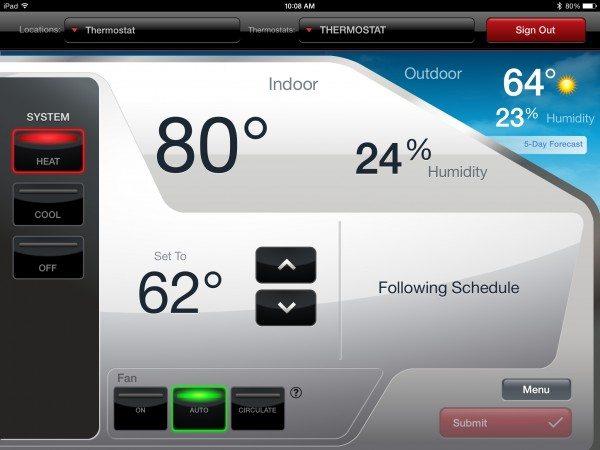 Honeywell Wi-Fi Smart Thermostat-9