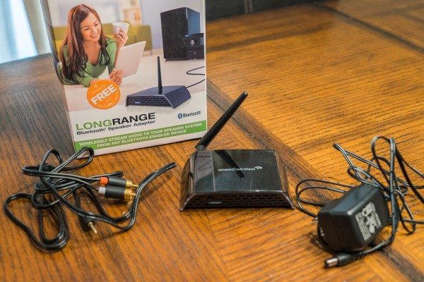 Amped Wireless LongRange Bluetooth Speaker Adapter review