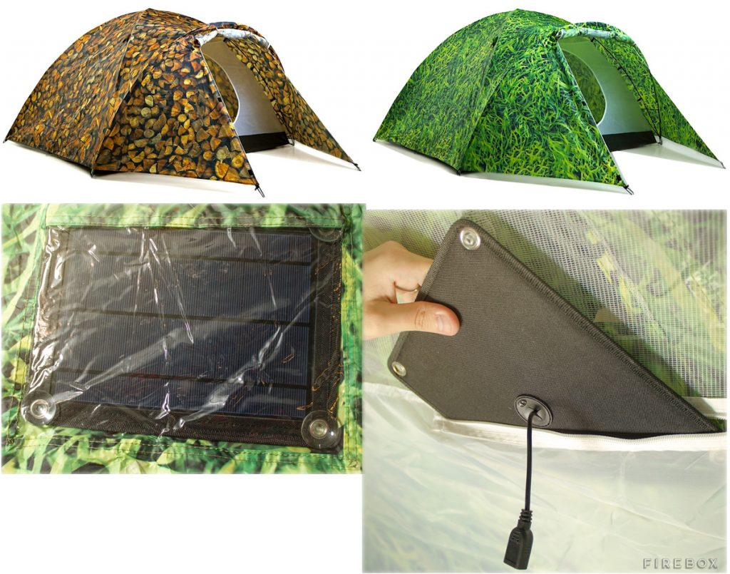 bang-bang-solar-powered-tent-1  sc 1 st  The Gadgeteer & Charge your devices while you recharge yourself in the great ...