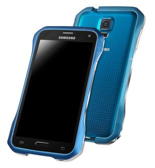 Protect your new Samsung Galaxy S5 with a DRACOdesign Supernova Aluminum Bumper