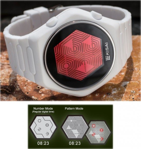 Limited edition silicone Quasar watch from Tokyoflash Japan