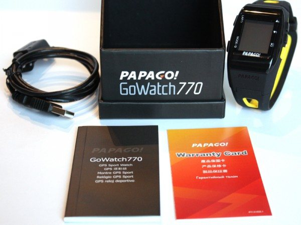Papago GoWatch 770 review