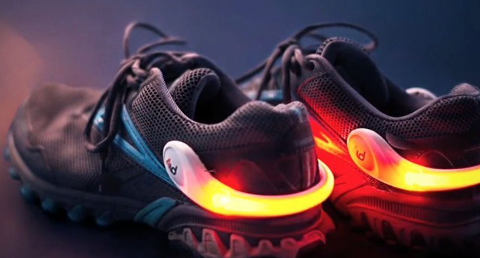 These light-up shoes are for adults