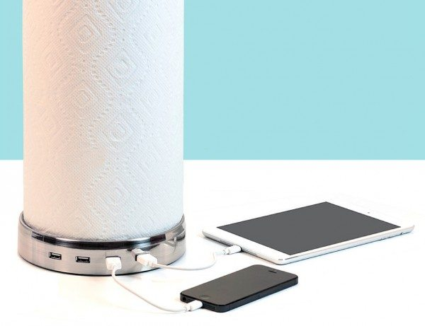 This is the most unique charging hub for the kitchen you'll see today