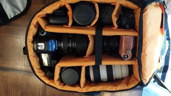 25) stuffed with too much gear