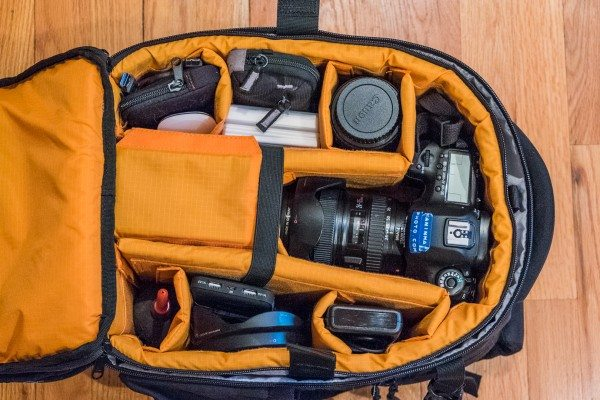 28) storm chasing gear packed