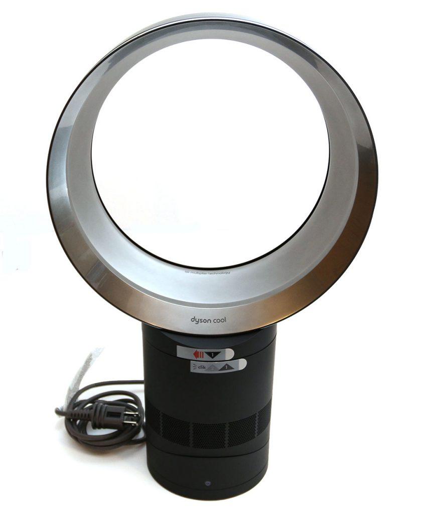 dyson cool desk fan model am06 review the gadgeteer. Black Bedroom Furniture Sets. Home Design Ideas