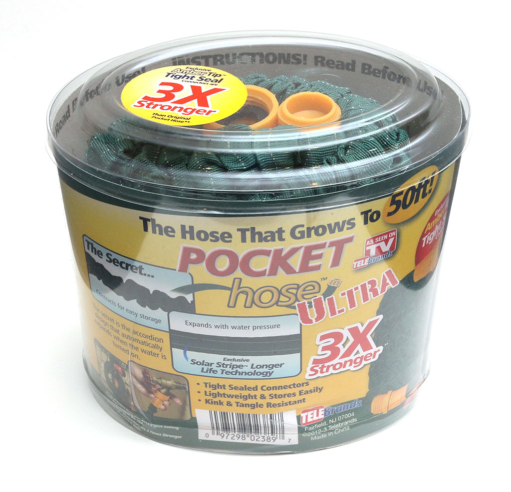 As seen on TV Pocket Hose Ultra garden hose review