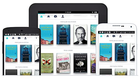 oyster book lending for android