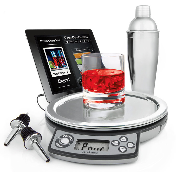 Make the perfect drink with this app controlled bartending for Perfect drink bluetooth scale