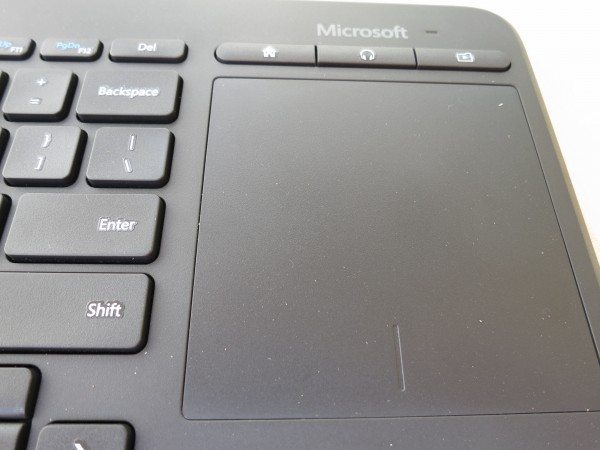 MS Keyboard trackpad