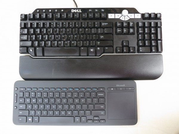 MS Keyboard vs. Dell SK-8135