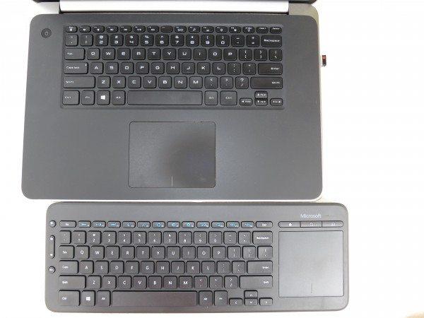 MS Keyboard vs. XPS 15