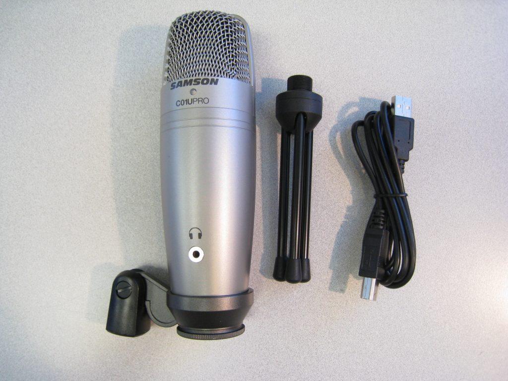 samson c01u pro usb microphone review the gadgeteer. Black Bedroom Furniture Sets. Home Design Ideas