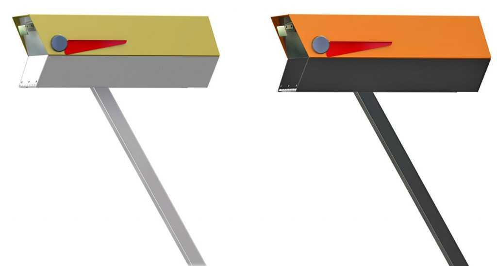 And Here S The Mailbox To Complement Your Mid Century Modern