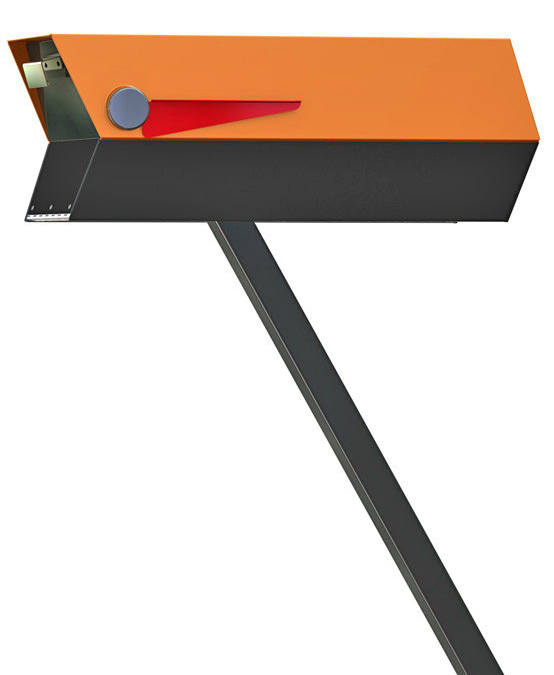 And here s the mailbox to complement your mid century for Mid century modern toy box