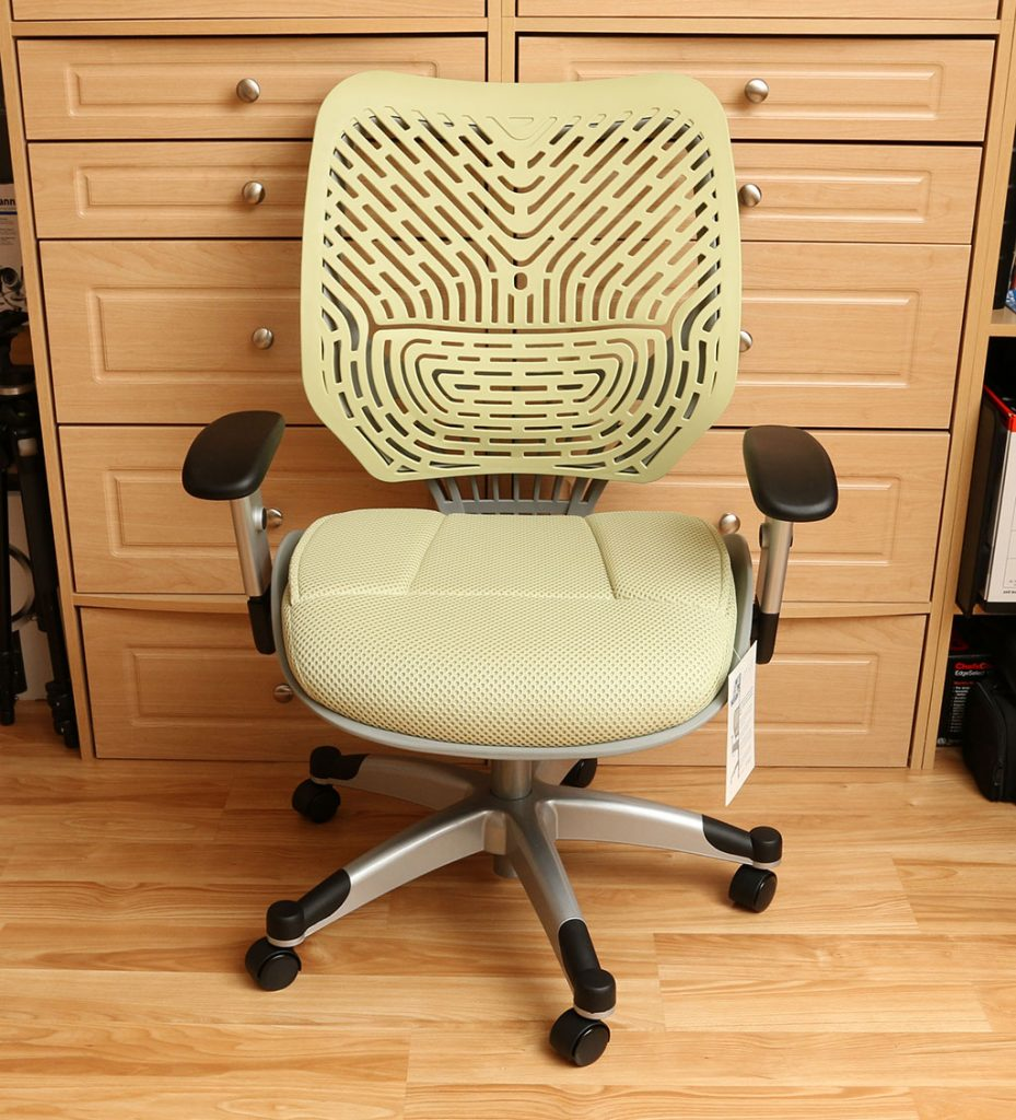 Ideal The assembled chair is very sturdy and attractive I was sent the green version but this same model es in a variety of other colors including good old