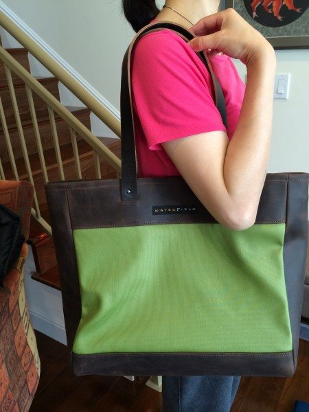 waterfield franklin tote 19