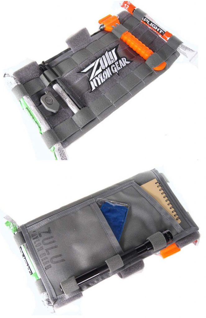 Turn Your Sun Visor Tactical With The Molle Visor Panel From Zulu Nylon Gear The Gadgeteer