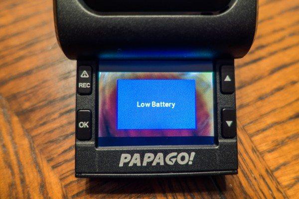 05) Low Battery
