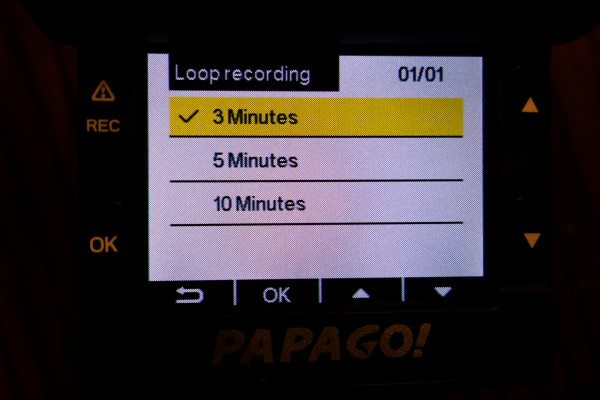 09) Loop Recording Time