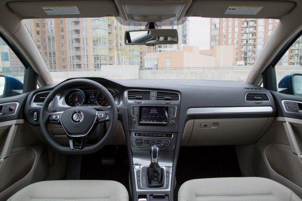 2015 e-Golf Interior 2
