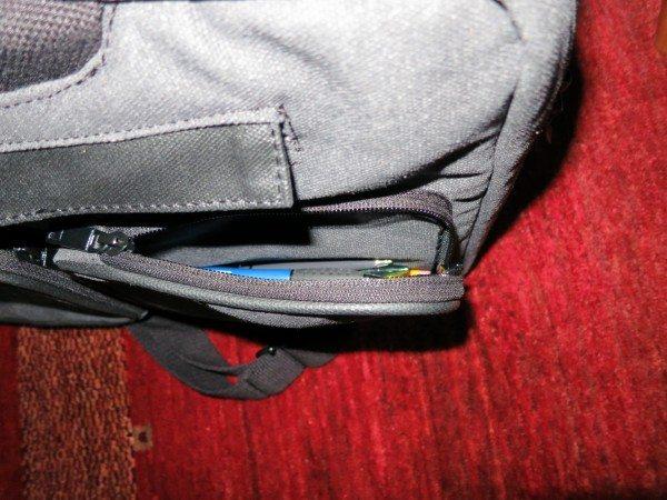 HEX outside pocket