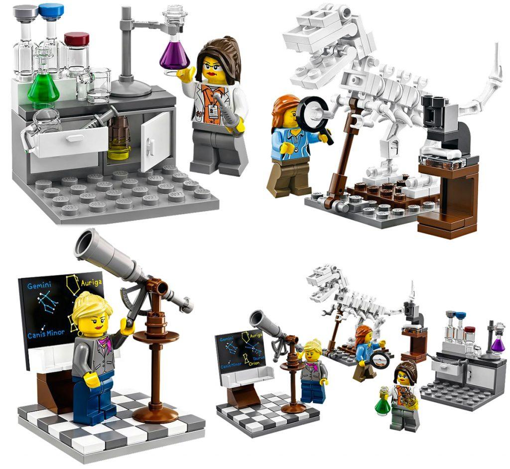 LEGO SET 21110-1 - Research Institute