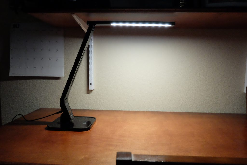 Taotronics Elune Dimmable Led Desk Lamp Review The Gadgeteer