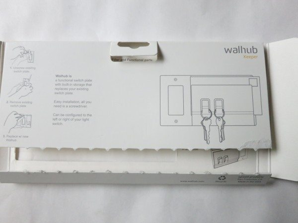 Walhub Keeper package rear