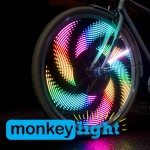 Monkeylectric Monkey Light M210 and M232 wheel light review