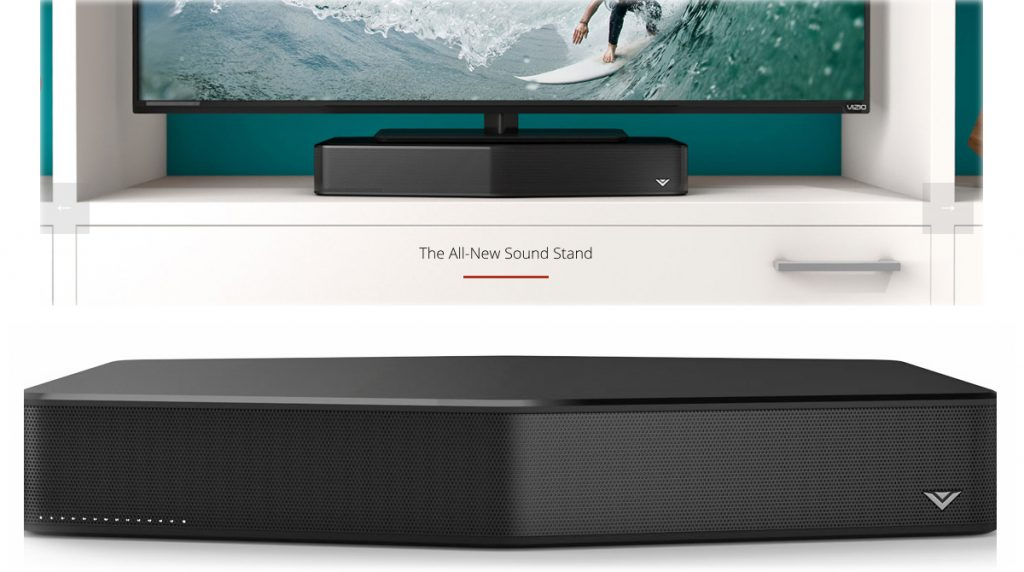 Vizio Introduces A Sound Bar For Rooms Without A Lot Of Table Space The Gadgeteer