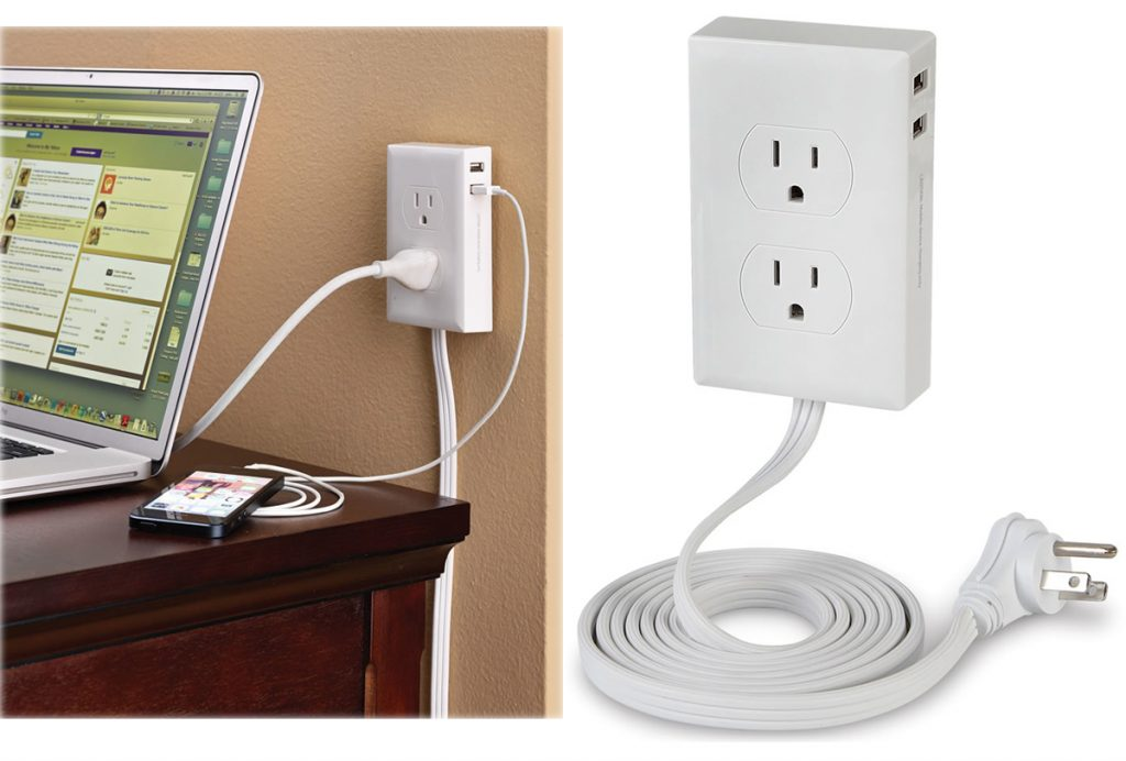 No More Crawling Under The Desk To Plug Things In With The