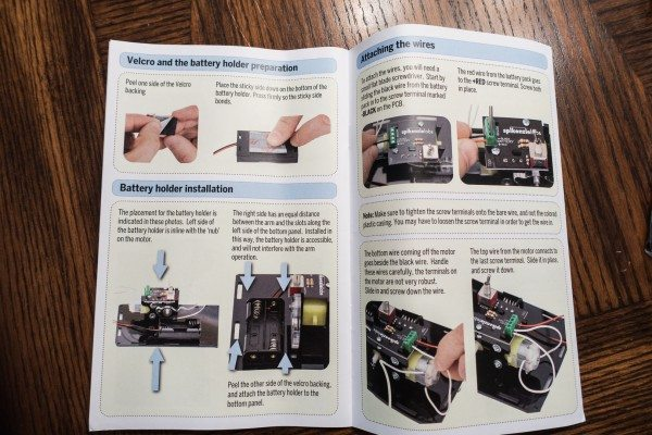 13 Putting In Battery Holder Instructions