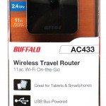 Buffalo wireless travel router 1
