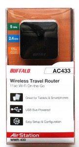 Buffalo wireless travel router 1