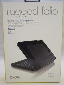 Zagg Rugged Folio For The Apple Ipad Mini Review The