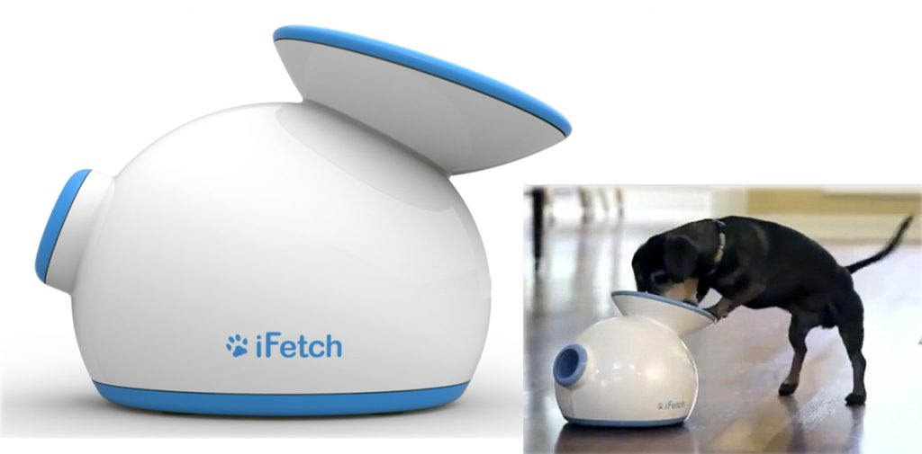 your dog can play fetch by himself with the ifetch