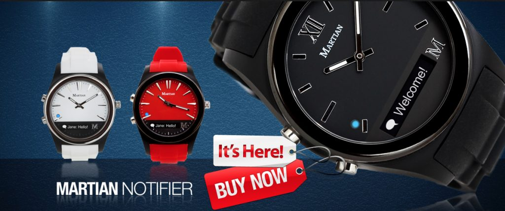 2da8c8b2cc6 Martian Watches Notifier smart watch review – The Gadgeteer