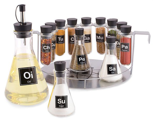 this spice set brings a bit of the laboratory into your