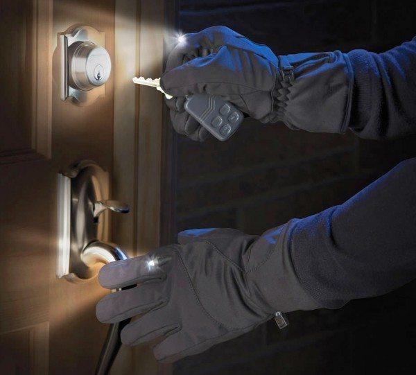 hammacher lighted gloves