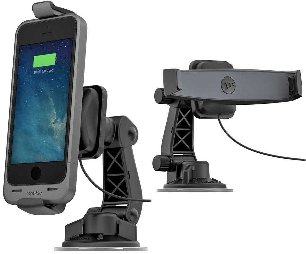 This Car Mount Will Charge Your Iphone 5 5s In Its Mophie