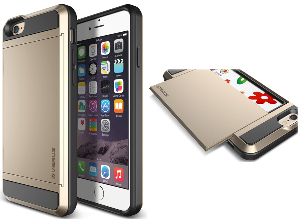 these iphone 6 6 plus cases have a hidden card slot the gadgeteer. Black Bedroom Furniture Sets. Home Design Ideas