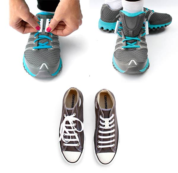 Never tie your shoe laces again with