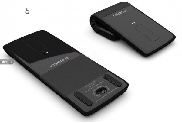 Visenta Recon Wireless Folding Mouse